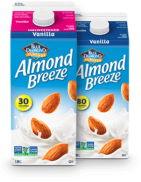 Almond Breeze refrigerated product packaging