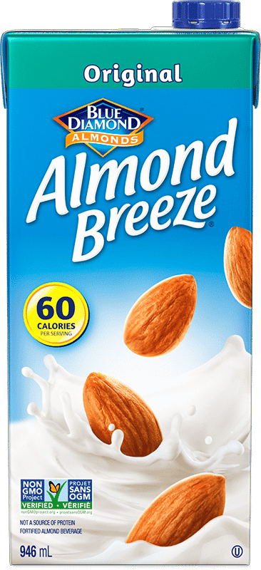 shelf stable almond breeze original carton