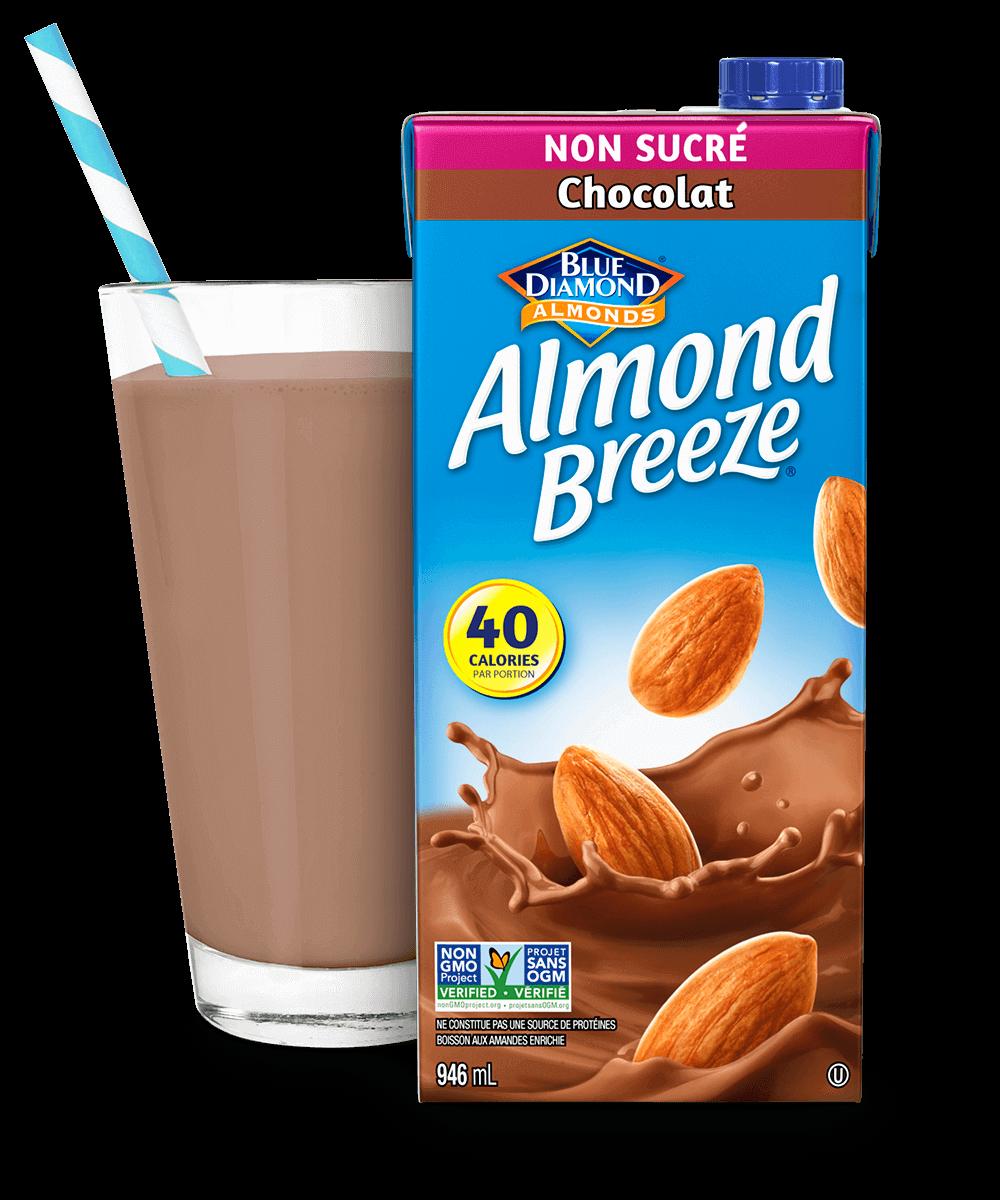 Almond Breeze Longue Conservation Chocolat Non Sucre