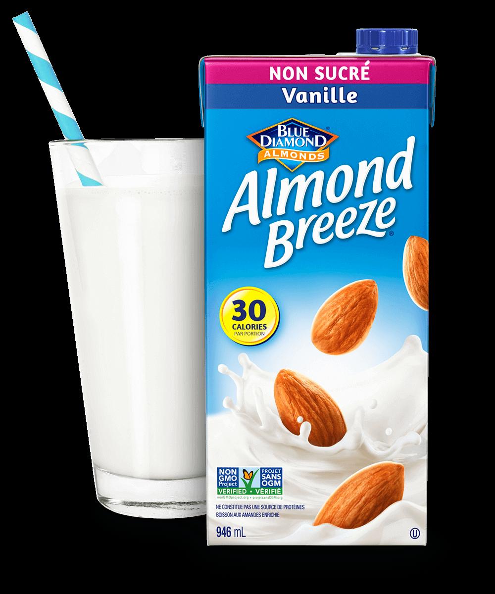 Almond Breeze Longue Conservation Vanille Non Sucre