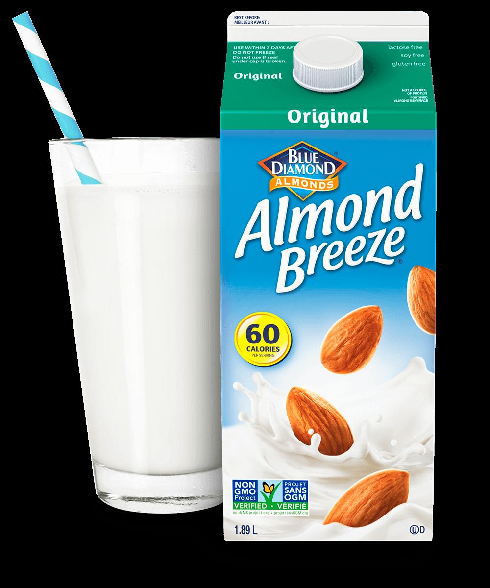 Almond Breeze Shelf Stable Original packaging