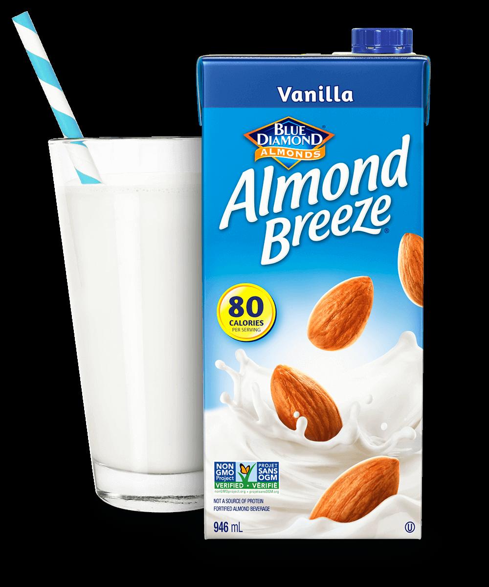 Almond Breeze Shelf Stable Vanilla packaging