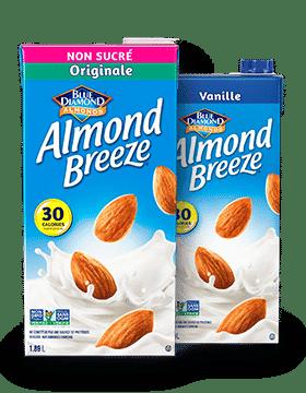 Almond Breeze Longue Conservatin Originale