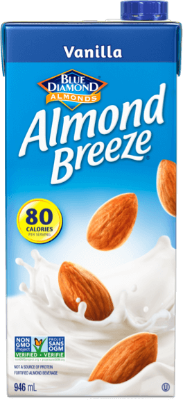 Shelf stable vanilla almond breeze packaging